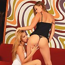 Klaudia and Jo - Sublime beauties lap butts and rub
