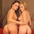 Bianka and  Jo - Lingerie Lesbians - Hot lingerie lesbian couple fuck