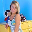 Nubiles.net Athena - Totally naked teen stunner masturbating her tight pussy with a purple toy inside her bedroom