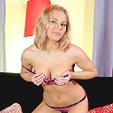 Nubiles.net Stesha - Nubile Stesha shows off her tender teen breasts and shaved pussy