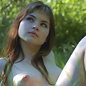 Zemani.com Anna - Nice angel in a white dress with high extent of sensuality takes her clothes off and poses nude at the countryside.